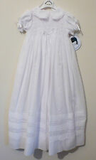 Cotton Blend Dress Baby Christening Clothing