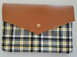 NEW September 2021 Ipsy Plaid Prep Cosmetic Makeup Bag Pouch