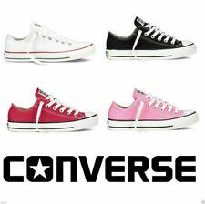 ALL/STAR Chuck Taylor Uomo Donna Unisex Maglia Scarpe Di Tela Basse Shoes BK