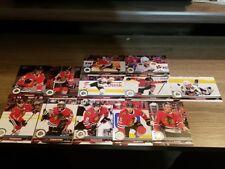 2017-18 Upper Deck UD series 1& Series 2 Chicago Black Hawks Team Set (12 cards)
