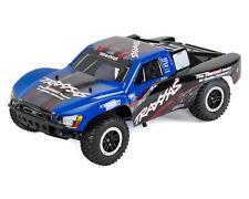 TRA44056-3-BLUE Traxxas Nitro Slash 3.3 1/10 2WD RTR SC Truck (Blue)