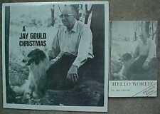 """A JAY GOULD CHRISTMAS"" BOOK & LP (1977) WOWO RADIO FORT WAYNE  FREE SHIPPING"