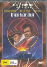 WHERE EAGLES DARE  - CLINT EASTWOOD - NEW & SEALED DVD - FREE LOCAL POST