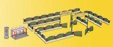 kibri 38601 Spur H0 Deko-Set Zaun für englischen Garten #NEU in OVP#