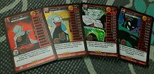 Dragon Ball Z 2014 DBZ Panini TCG Foil MP Main Personality Set Garlic Jr. 1-4
