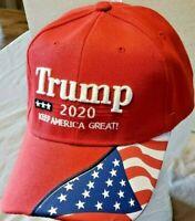 Donald Trump 2020 Keep Make America Great Again Cap President Election Hat Flag