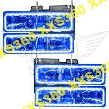 ORACLE Halo HEADLIGHTS for Chevrolet Suburban 92-99 BLUE LED Angel Eyes