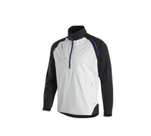 NEW FootJoy DryJoys Select LS Rain Shirt Black/White/Royal 35375 Men's Medium M