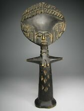 Tribal African Statue Akuaba Doll Vintage Primitive