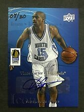 2013 Upper Deck Icons Industry Summit Autographs #VC Vince Carter/20