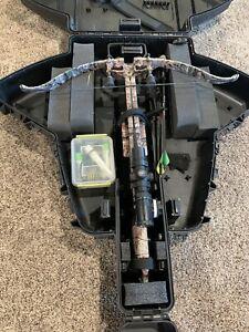 Excalibur crossbow Bulldog 400, Arrows, Case, & Scope Included