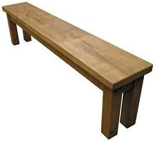 """""""any size made""""  SOLID WOOD CHUNKY RUSTIC PLANK PINE TABLE BENCH SAWN FURNITURE"""