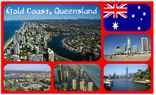 GOLD COAST, AUSTRALIA - SOUVENIR NOVELTY FRIDGE MAGNET - NEW - GIFT / XMAS