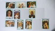 ABBA trading cards SMALL MINI cards vintage set 4 Agnetha Benni