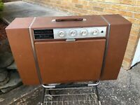 RCA Victor Total Sound Stereo High Fidelity Record Player Midcentury Cart 1960s