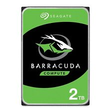 "Seagate BarraCuda 2TB HDD – 3.5"" SATA 6Gb/s 7200 RPM 256MB Cache (ST2000DM008)"
