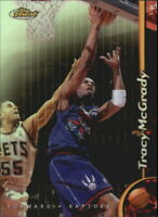 1998-99 Finest No Protectors Refractors Basketball Card #28 Tracy McGrady