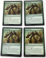 MTG Magic : Playset (4x) Bras de terre Earthen Arms  Bataille Zendikar VF Exc