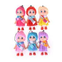 Best 2Pcs Kids Toys Soft Interactive Baby Dolls Toy Mini Doll For Gi xl