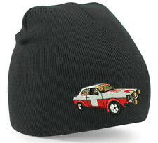 Ford Mk1 Escort Rally car Inspired Embroidered Beanie Hat Rallying race