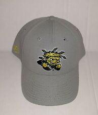Wichita State Shockers 3D Embroidered Hat Flexfit Fitted Cap OSFM