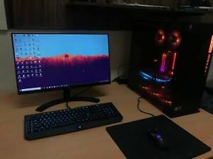 RGB Gaming PC (1070ti, i7-8700, 16GB RAM) Plus Desk Setup