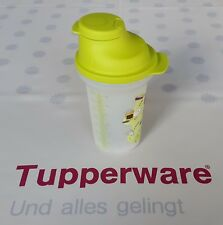 Tupperware * Shake-It Messbecher 350 ml * grün / transparent mit Rezepten * Neu!