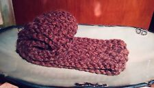 Double Loop Hand Knitted Infinity Scarf
