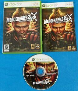 Microsoft XBox 360 Game - Mercenaries 2-World In Flames. FREE P+P.