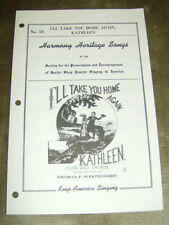 Vintage & Antique Sheet Vocal Scores Books