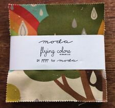 "Flying Colors by MoMo for Moda  - fabric Charm Pack - 5"" squares"
