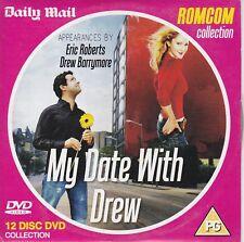 MY DATE WITH DREW  Drew Barrymore , Eric Roberts ( UK Newspaper Promo DVD )