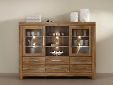 Gent New Sideboard dresser Display unit living dining room furniture oak modern