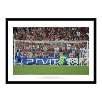 Chelsea 2012 Champions League Final Drogba's Penalty Photo Memorabilia (792)