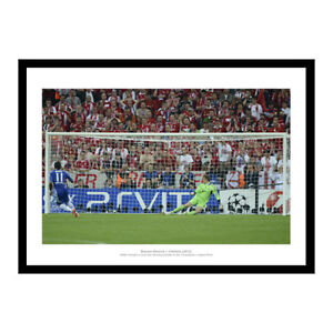 Chelsea 2012 Champions League Final Drogba's Penalty Photo Memorabilia (792)