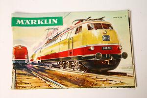 Märklin Main Catalogue 1966 D (3642)