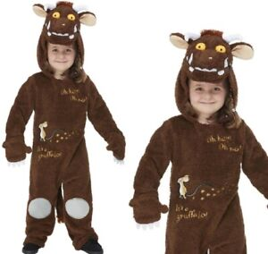 The Gruffalo Deluxe Costume Childrens World Book Day Fancy Dress Outfit