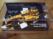 1/43 MCLAREN MERCEDES MP4/20 ad interim livrea 2006 Gary Paffett