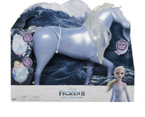 Disney Frozen 2 Elsa's Spirit Horse, Light-Up & Sounds Water Nokk, 15 Inches -