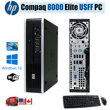 HP Compaq Elite 8000 Ultra Slim WINDOWS 10