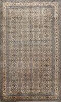 Vintage Floral Oriental Anatolian Turkish Area Rug Hand-knotted Wool Carpet 6x9