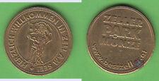 Parkmünze Salzburg Zell am See ca. 4,63 g ca. 21,5 mm gebraucht fleckig Kratzer