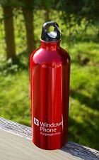 Microsoft Store University Village Grand Opening 2011 Red Aluminum Water Bottle