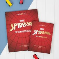 Personalised Photo Marvel Spiderman Ultimate Collection Stories Hardback Book