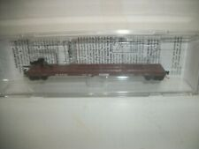 """Micro Trains Norfolk Southern 57'6"""" CONVERTED TOFC FLAT CAR N scale NEW"""