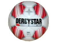 Derbystar X-Treme TT Fussball Gr.5 Training Fußball rot IMS Ball Schule Verein