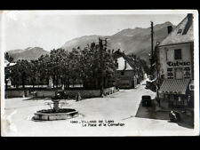 VILLARD-de-LANS (38) CITROEN TRACTION au BUREAU DE TABAC & FONTAINE animés 1941