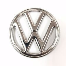 VW EMBLEM Baywindow Front Stainless Steel TYPE 2 BUS 1972-1979  Bay Kombi Badge