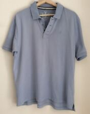 F&F 100% cotton T shirt with collar size L chest 41-43 in