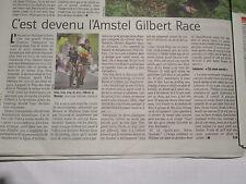 PHILIPPE GILBERT : GAGNE L'AMSTEL GOLD RACE - 18/04/2017 - 4ème VICTOIRE